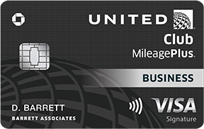 United-MileagePlus-Club-Business-Card